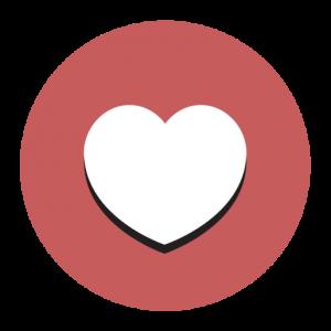 De Letterbrug hart icoon