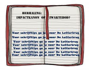 Schrijftips van De Letterbrug herhaling