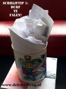 Schrijftips Tekstbureau De Letterbrug, durf te falen