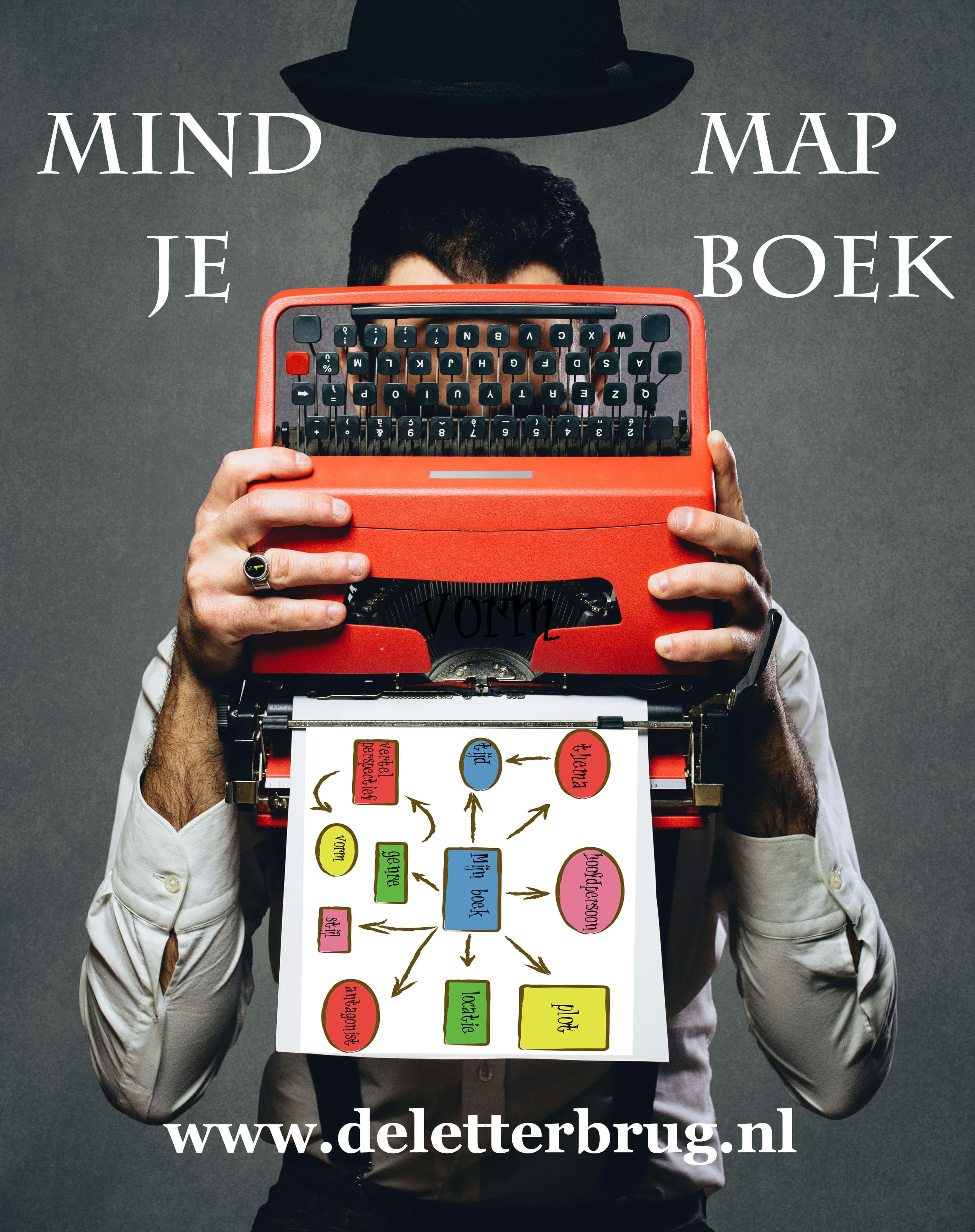 Schrijftips van Tekstbureau De Letterbrug, mindmappen
