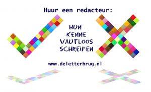 Schrijftips van Tekstbureau De Letterbrug, redacteur