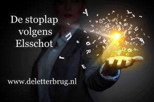 Schrijftips van De Letterbrug, Stoplap en Elsschotproef
