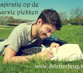 Schrijftips van De Letterbrug, inspiratie op rare plekken