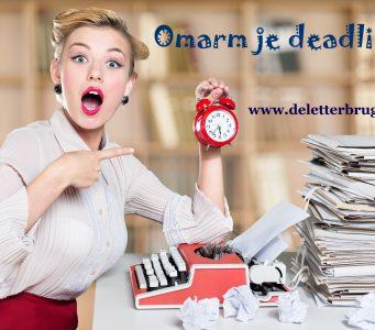 Het nut van deadlines, schrijftips Tekstbureau De Letterbrug