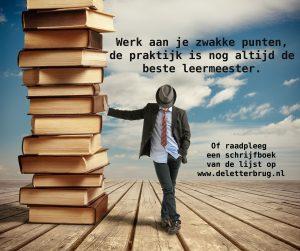 Schrijftips van Tekstbureau De Letterbrug, schrijfboeken