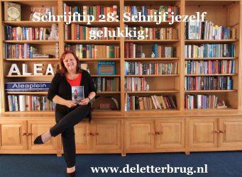 Schrijftips van De Letterbrug Ria Schopman, Alea, voor boekenkast